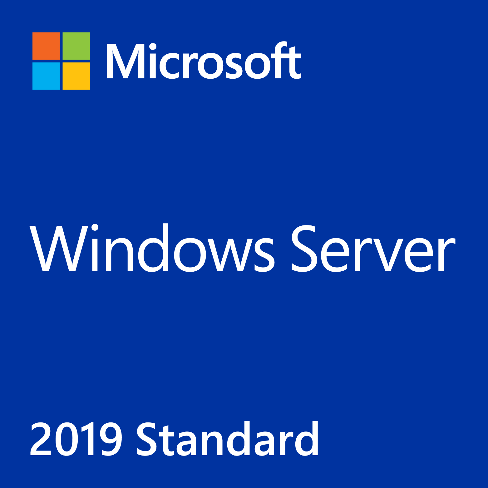 Windows Svr Std 2019 64Bit English DVD 10 Clt 16 Core License / Коробочная
